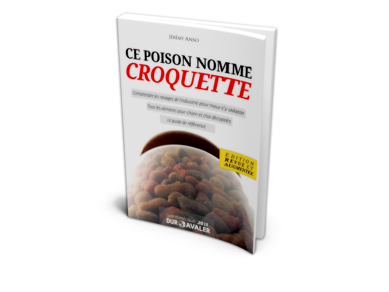 Ce poison nomm croquettes j r my anso raw feeding nourrir son animal sainement - Bouillon d os ...